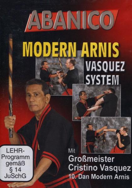 DVD Modern Arnis - Vasquez System