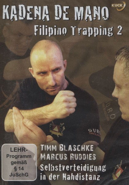 DVD Kadena de Mano Filipino Trapping Vol. 2