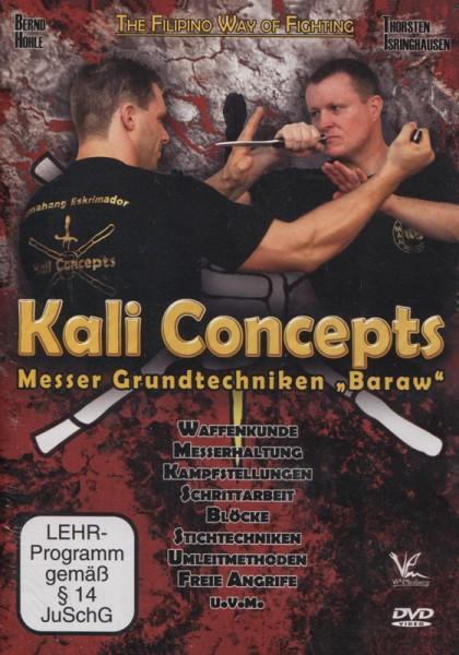 """Kali Concepts - Messer Grundtechniken """"Baraw"""""""