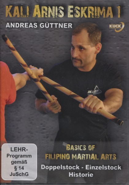 DVD Basics of Filipino Martial Arts Vol. 1
