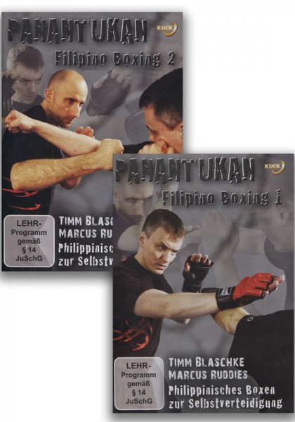 DVD-Set Panantukan Filipino Boxing Vol. 1 & 2
