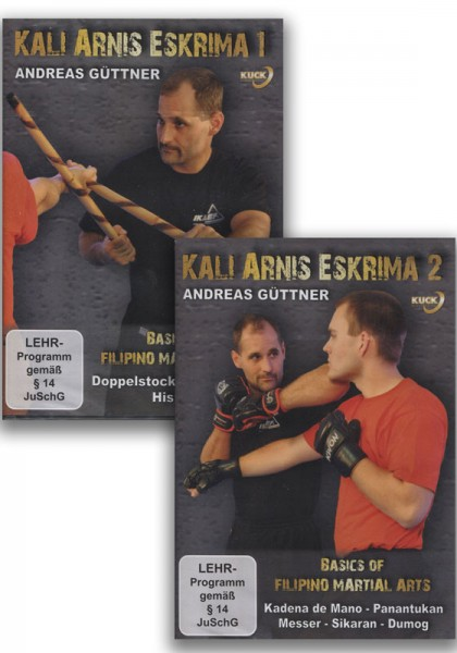 DVD-Set Basics of Filipino Martial Arts Vol. 1 & 2