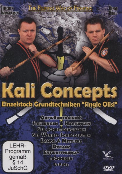 "Kali Concepts - Einzelstock Grundtechniken ""Single Olisi"""